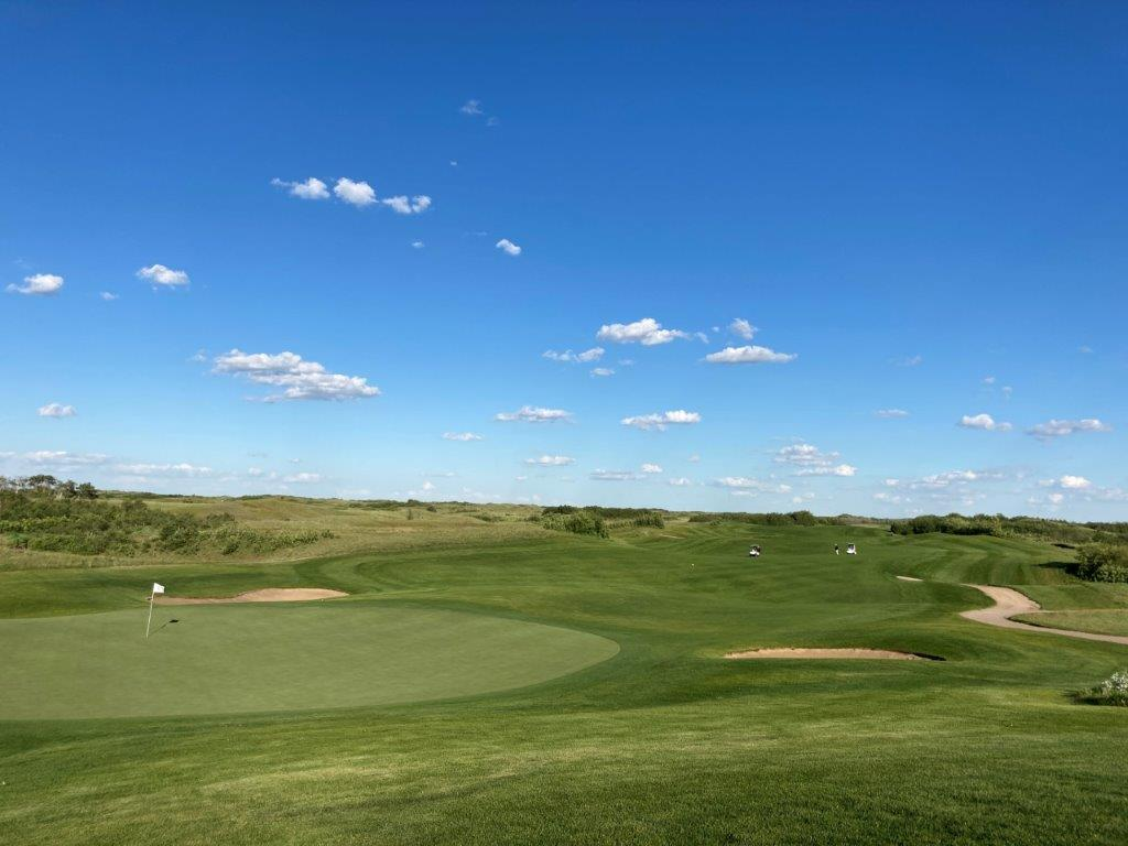 Dakota Dunes golf course in Saskatoon SK