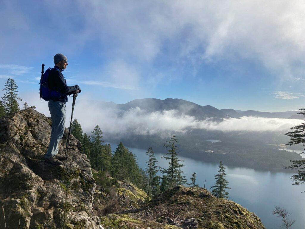 Bald Mountain viewpoint, Lake Cowichan BC