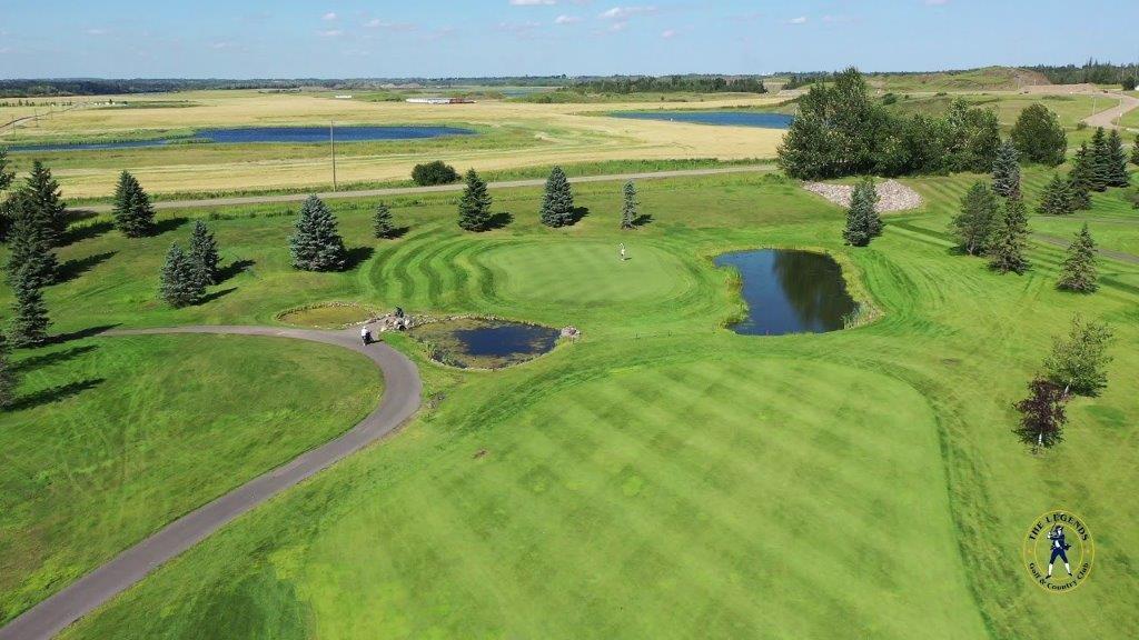 Legends golf course in Warman SK