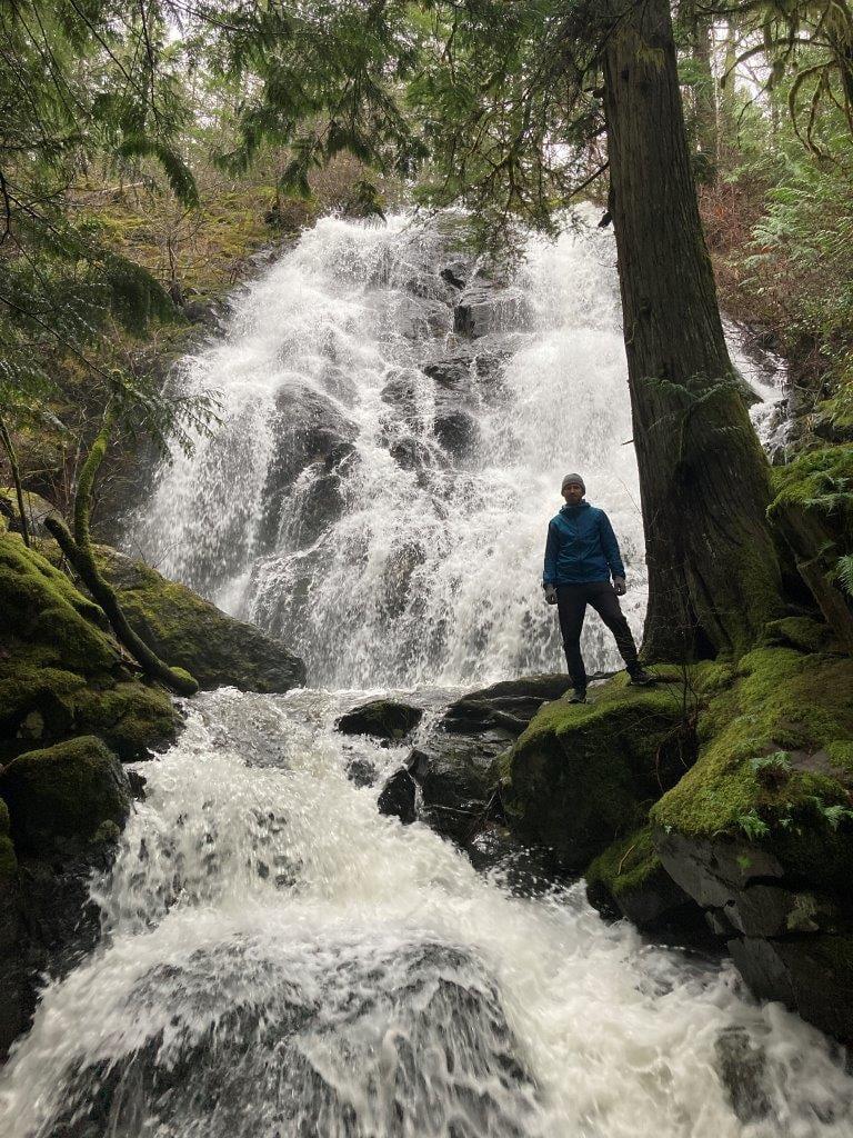 Mary Vine waterfall Sooke BC