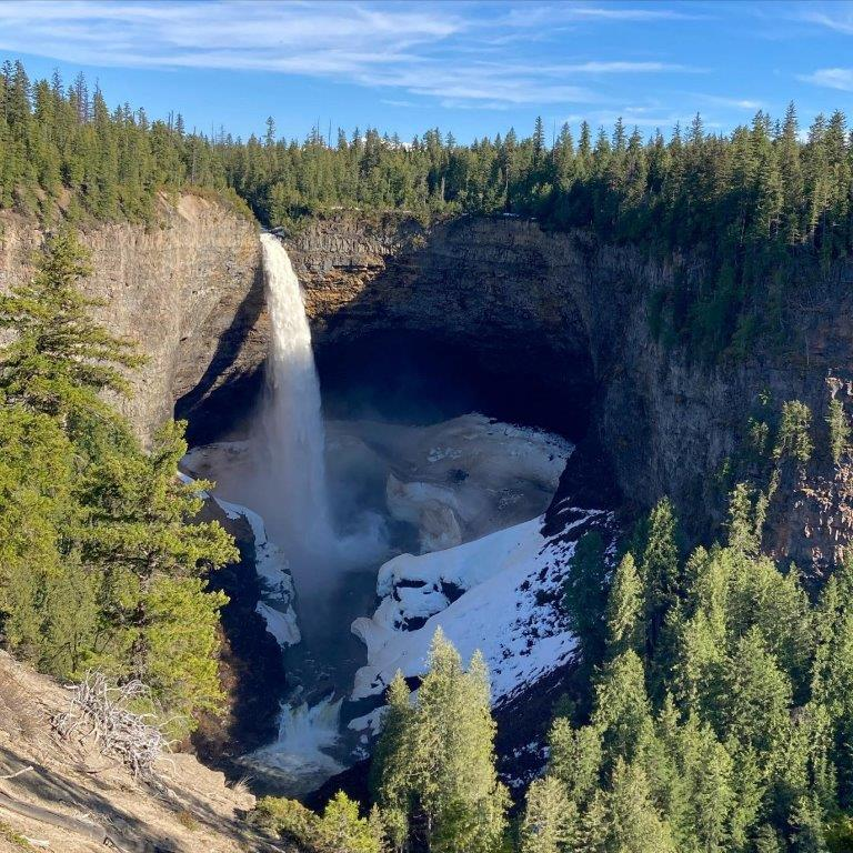 Helmcken Falls Clearwater BC
