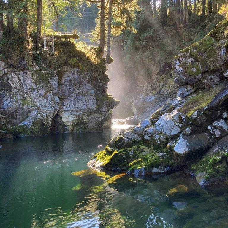 Mamquam River Squamish BC