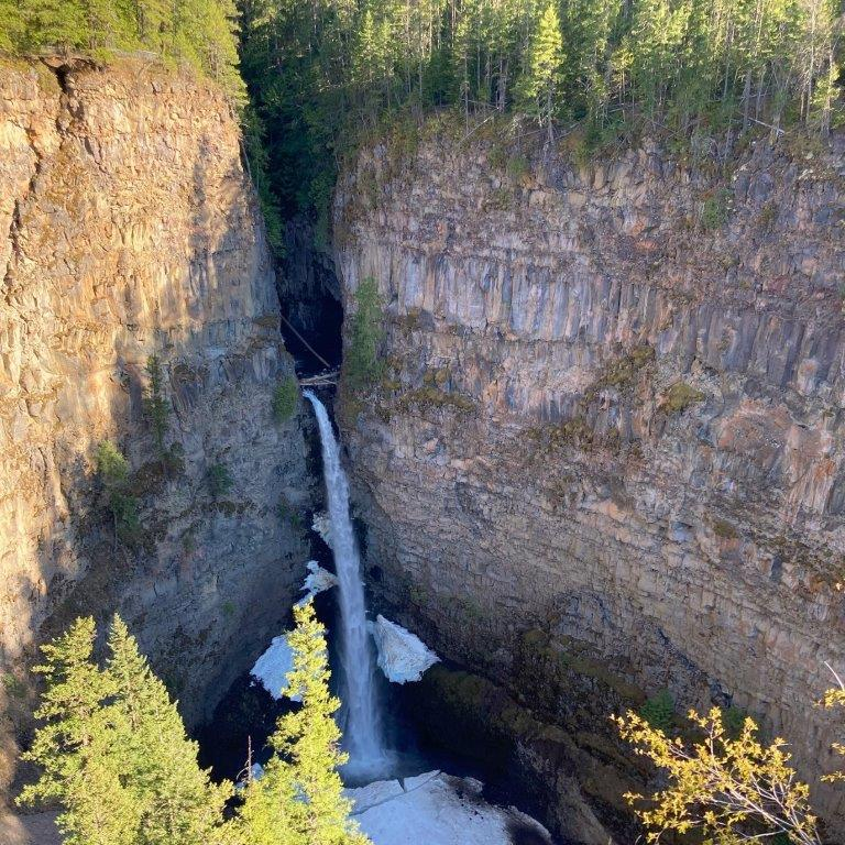 Spahats Falls Clearwater BC