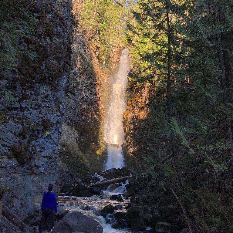 Triple Decker Falls Clearwater BC