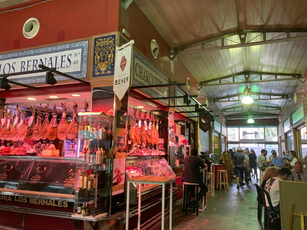 The Mercado de Tirana one of the best things to do Seville Spain