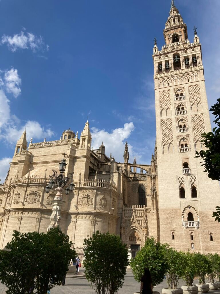 Exterior of Seville Cathedral of the top things to do in Seville Spain