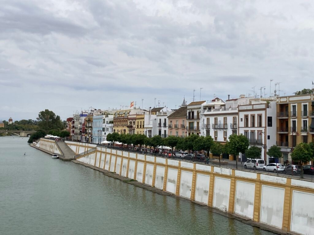 The neighborhood of Triana and river front bars one of the best things to see in Seville Spain