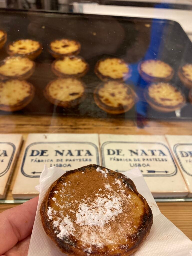 A pasteles de nata. Eating one is what to do in Seville