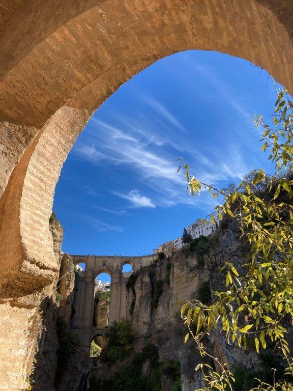 Puente Nuevo through Arco del Cristo Ronda