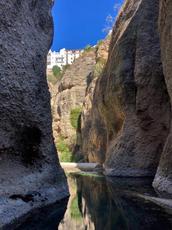 El Tajo gorge in Ronda Spain