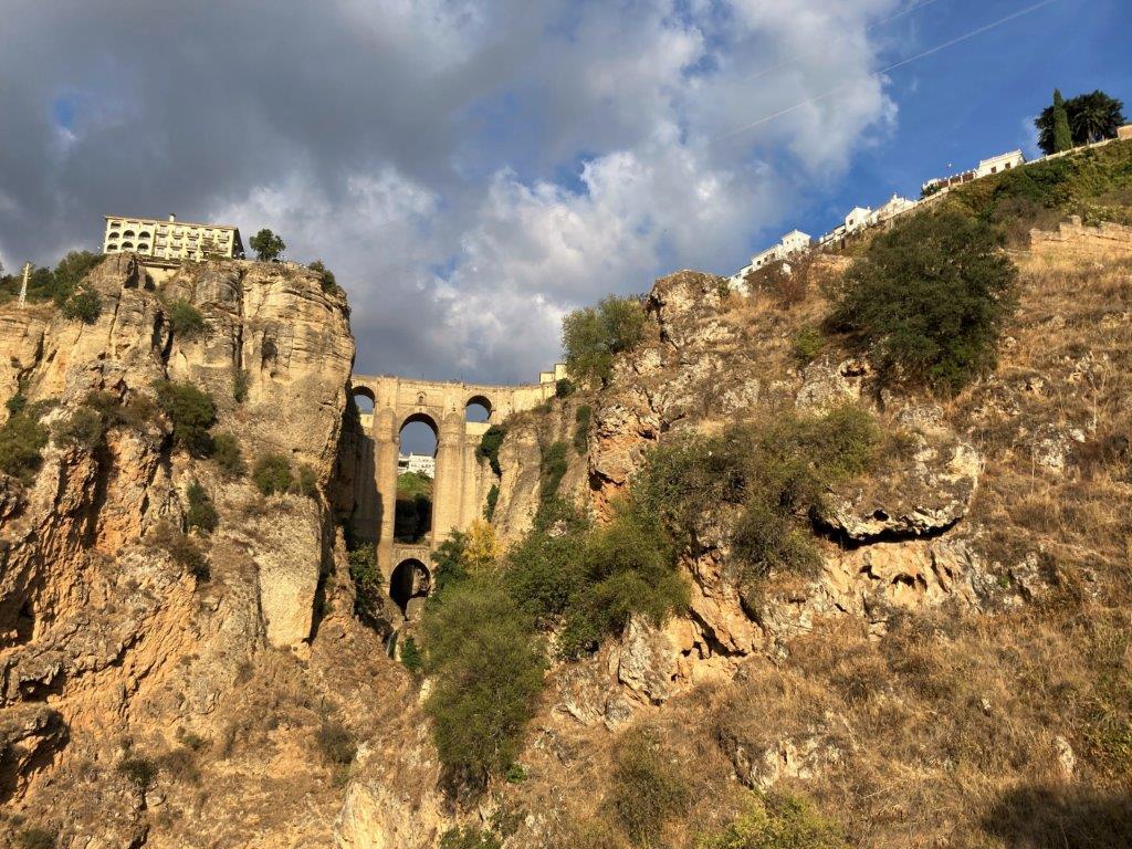 Puente Nuevo from Mirador La Hoya del Tajo