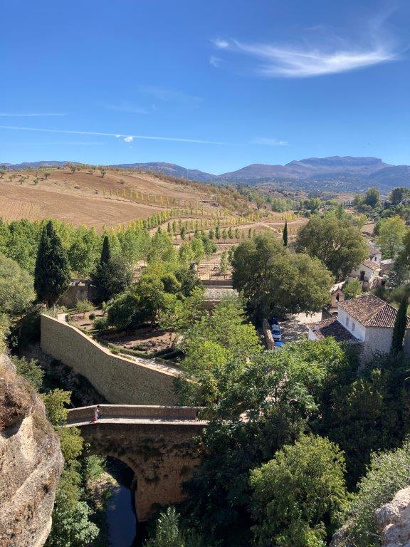 Puente Arabe in Ronda Spain
