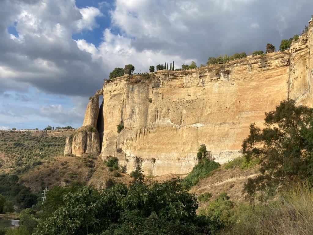 The cliffs of Ronda Spain